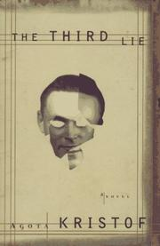 Cover of: The third lie