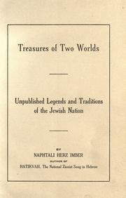 Cover of: Treasures of two worlds