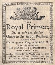 Cover of: The Royal primer |