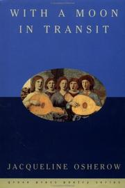 Cover of: With a moon in transit