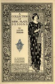 A collection of book plate designs