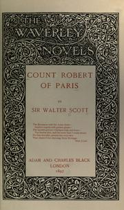 Count Robert of Paris by Sir Walter Scott