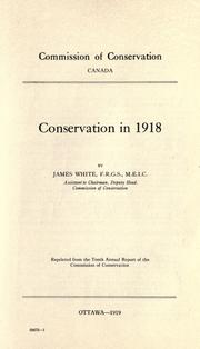 Cover of: Conservation in 1918
