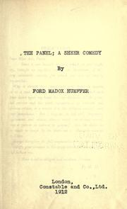 Cover of: The panel