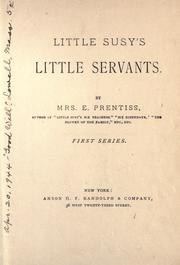 Cover of: Little Susy's little servants