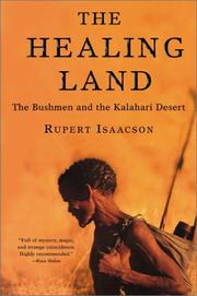 Cover of: The Healing Land | Rupert Isaacson