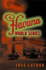 Cover of: The Havana World Series