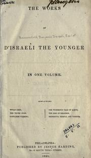 Cover of: The works of D'Israeli the younger