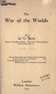 Cover of: The War of the Worlds by H. G. Wells
