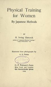 Cover of: Physical training for women by Japanese methods