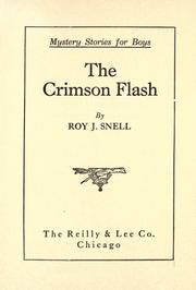 Cover of: The crimson flash