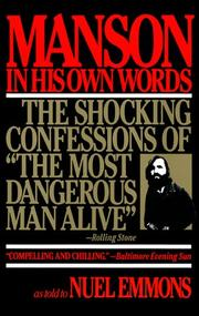 Cover of: Manson in His Own Words | Nuel Emmons, Charles Manson