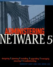 Cover of: Administering NetWare 5