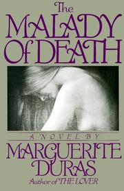 Cover of: The Malady of Death | Duras, Marguerite.