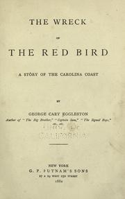 Cover of: The wreck of the red bird