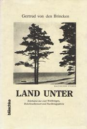 Cover of: Land unter