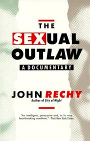 Cover of: The sexual outlaw