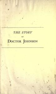 Cover of: The story of Doctor Johnson