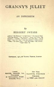 Cover of: Granny's Juliet by Herbert Swears