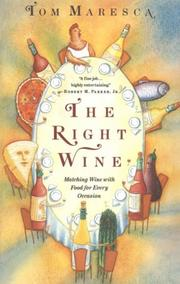 Cover of: The Right Wine | Tom Maresca