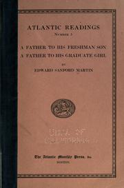 Cover of: A father to his freshman son