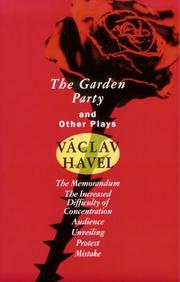 Cover of: The garden party and other plays