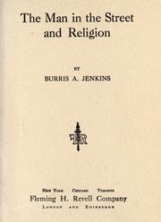 Cover of: The man in the street and religion