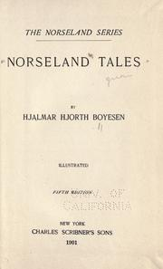 Cover of: Norseland tales