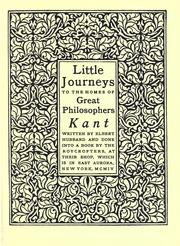 Cover of: Kant