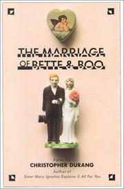 Cover of: The marriage of Bette and Boo