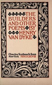 Cover of: The builders and other poems
