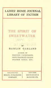 Cover of: The spirit of Sweetwater