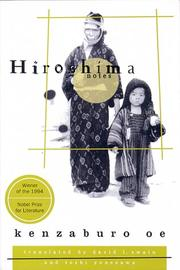 Cover of: Hiroshima nōto