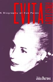 Cover of: Evita - First Lady