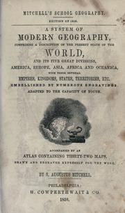 Cover of: A system of modern geography