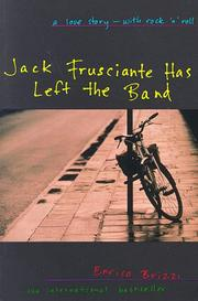Cover of: Jack Frusciante has left the band