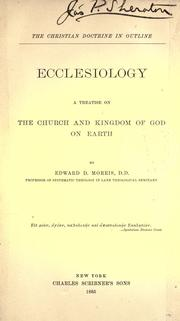 Cover of: Ecclesiology