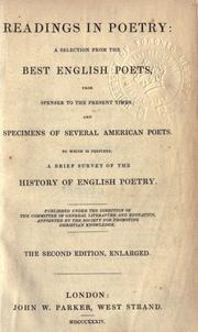 Cover of: Reading in poetry |
