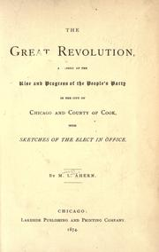 The great revolution by M. L. Ahern