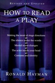 Cover of: How to read a play