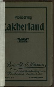Cover of: The wonderful story of the Lakher Pioneer Mission