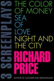 Cover of: 3 screenplays | Price, Richard