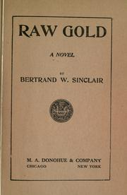 Cover of: Raw gold by