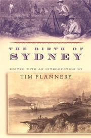 Cover of: The birth of Sydney