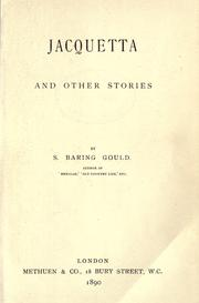 Cover of: Jacquetta, and other stories