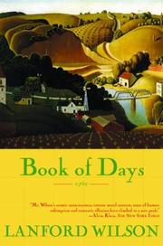 Cover of: Book of days