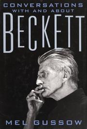 Cover of: Conversations With and About Beckett