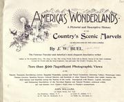 Cover of: America's wonderlands by James W. Buel