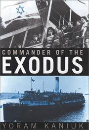 Cover of: Commander of the Exodus