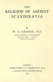 Cover of: The religion of ancient Scandinavia